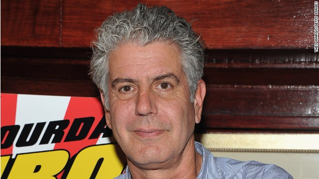 What Anthony Bourdain ate on his summer vacation