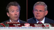 Paul and Menendez on Syrian intervention