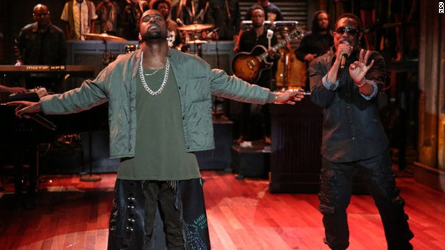 Watch: Kanye West's surprise 'Late Night' performance