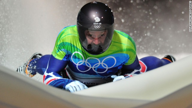 Bromley competing in the men's skeleton at the last Winter Olympics in Vancouver in 2010, where he finished sixth, a place down on where he ended up at the last Games in Turin four years earlier.