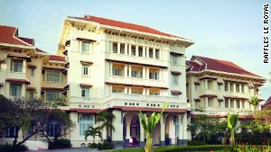 Phnom Penh\'s most luxurious hotel is the Raffles Hotel Le Royal. Despite its finery, rooms start at just $180 per night.