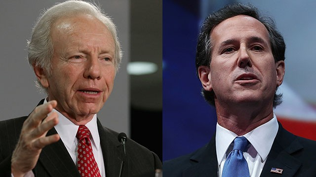 Tonight in the Crossfire: Lieberman and Santorum on Syria