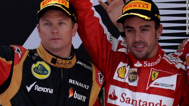 Ferrari will pit two world champions against each other in 2014 as Kimi Raikkonen (left) returns to join Fernando Alonso. The pairing could be one of the most sensational in the history of Formula One.