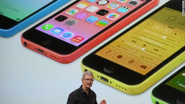 Apple presenta el iPhone 5S y el iPhone 5C de 99 dólares