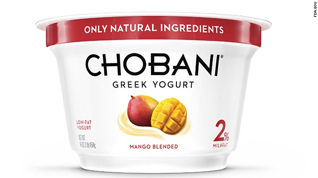 89 reported sickened by Chobani yogurt