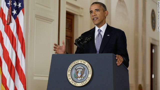 Obama maintains military pressure on Syria