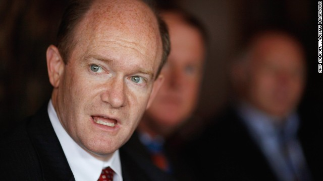 Sen. Chris Coons, D-Delaware, is a member of the
