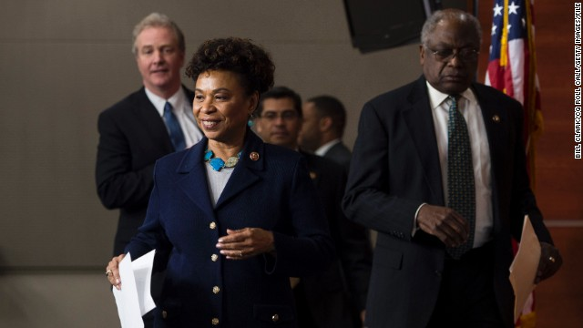 Rep. Jim Clyburn, D-South Carolina, right, is the third highest-ranking House Democrat, while Rep. Barbara Lee, D-California is a former chair of the Congressional Black Caucus. They could influence caucus members' important votes on Syria. Clyburn is undecided on military authorization, while Lee is a