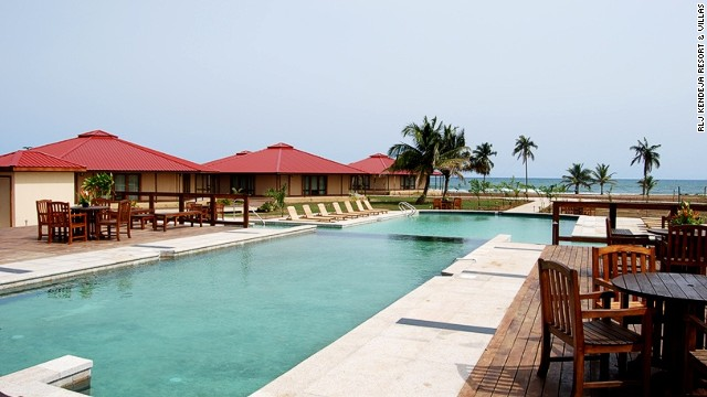 Based just outside the capital Monrovia, RLJ Kendeja Resort & Villas was built by Bob Johnson, the multi-millionaire developer and founder of the U.S. cable network Black Entertainment Television.