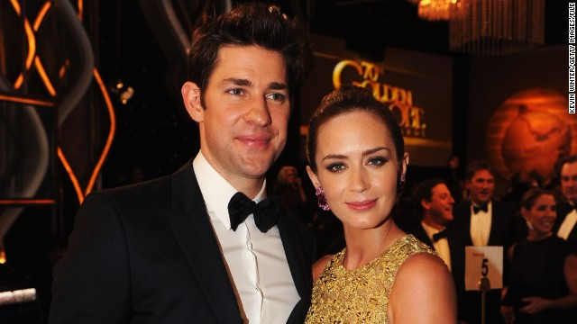 Baby on the way for Emily Blunt, John Krasinski