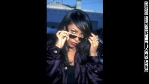 Singer Aaliyah died in a plane crash in 2001.