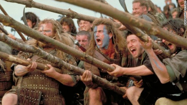 """With Mel Gibson's personal problems swerving into his professional life, we wouldn't be surprised if many of you prefer to remember the 1995 version of the actor -- covered in war paint and yelling, """"They may take our lives, but they'll never take our freedom!"""""""