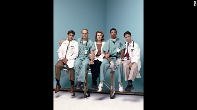 """ER"" was must-see TV for many, and while George Clooney (left) is now an actor and director extraordinaire, we loved him as the womanizing Dr. Doug Ross on that series."