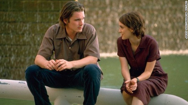 """The dictionary might as well use a photo of """"Reality Bites"""" as the definition for the '90s. The 1994 film, directed by Ben Stiller, had it all: Winona Ryder (right), Ethan Hawke (left), Janeane Garofalo and lots of angsty discussion about the meaning of life. For some reason, <a href='http://www.cnn.com/2013/08/22/showbiz/reality-bites-comes-to-tv-ew/index.html?iref=allsearch' target='_blank'>Stiller wants to bring the movie back as a TV series. </a>"""