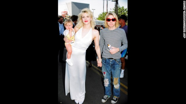 Few couples typify the '90s like Cobain and his wife, Courtney Love. With Cobain being the pied piper of Seattle grunge and Love the rebellious other half, the two -- along with their daughter, Frances Bean -- were rock royalty in 1993. Frances Bean, <a href='http://www.hedislimane.com/rockdiary/index.php?e=viewSpe&rockdiarySpeHomeNo=57' target='_blank'>who greatly resembles her late father,</a> is now 21 years old, an artist and<a href='https://twitter.com/alka_seltzer666' target='_blank'> active Twitter user. </a>
