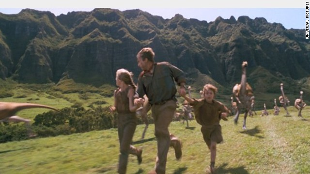 """Steven Spielberg's 1993 film """"Jurassic Park"""" was such a classic, it even performed well 20 years later. When the 3-D version of the original was re-released in theaters in April 2013, it earned $18.6 million opening weekend. Let's run that past you again: $18.6 million, from a movie many moviegoers likely already own."""
