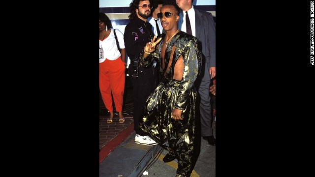 """MC Hammer's hammer pants had a starring role in the music video for 1990's """"U Can't Touch This,"""" and, surprisingly, are still around. <a href='http://stylenews.peoplestylewatch.com/2013/03/05/pants-justin-bieber-drop-crotch-trousers/' target='_blank'>Just ask Justin Bieber</a>."""