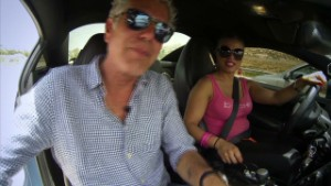 Anthony Bourdain and the Speed Sisters