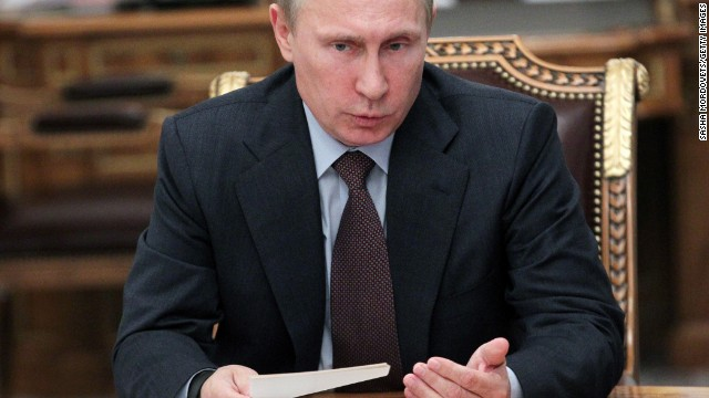 Russian President Vladimir Putin warned a U.S. strike would throw the international system