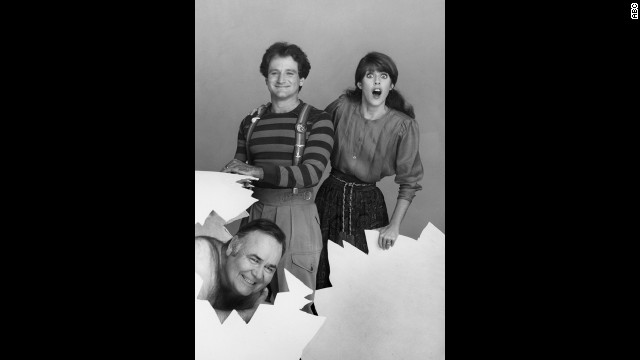 """Mork & Mindy"" was just one of the spinoffs from ABC's ""Happy Days."" It also made Robin Williams a superstar (here with co-star Pam Dawber and Jonathan Winters)."