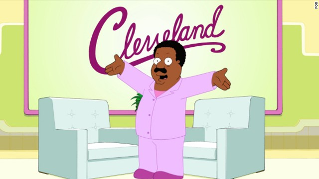 """The Cleveland Show"" is a spin-off of ""Family Guy,"" executive produced by MacFarlane."