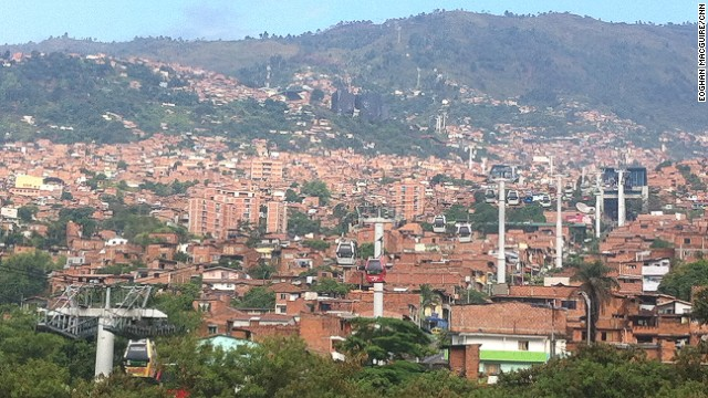 Medellin is regarded as the first city to introduce an urban gondola system. The Colombian city constructed its first Metrocable line in 2004.