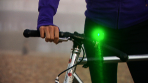 The laser light that could cut cyclist deaths