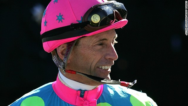 In his extraordinary career, American Russell Baze has ridden more than 50,000 races - more than any other jockey in history. First competing in 1974, the 55-year-old has finished in the top three in over 28,000 races.