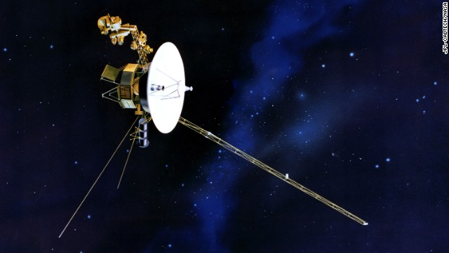 As NASA scientists report that Voyager 1 has left the solar system, take a look at some of the amazing images the probe has provided its earthbound audience.