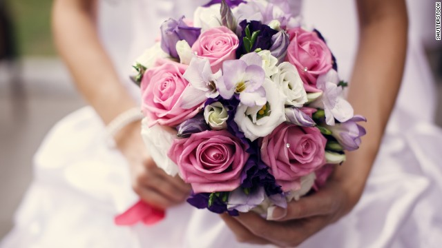 "One bride says she worked out a deal with her florist to ""rent"" the flowers, which were collected at the end of the night and brought in to decorate local hotels and restaurants."