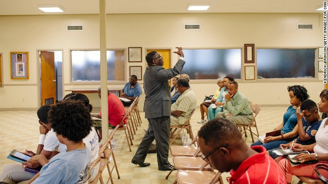 The pastor of the historic church today is the Rev. Arthur Price Jr., whose Wednesday evening Bible studies draw about 40 people.