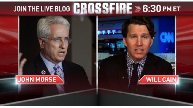 In the Crossfire: John Morse and Will Cain on gun laws