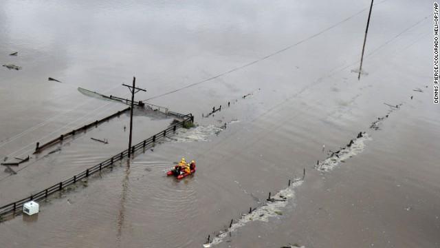 Cuatro muertos y más de 170 personas desalojadas por las lluvias en Colorado