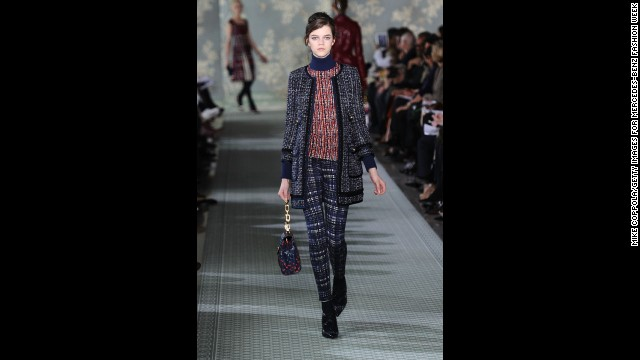 Tory Burch's fall 2012 show during New York Fashion Week in February 2012.