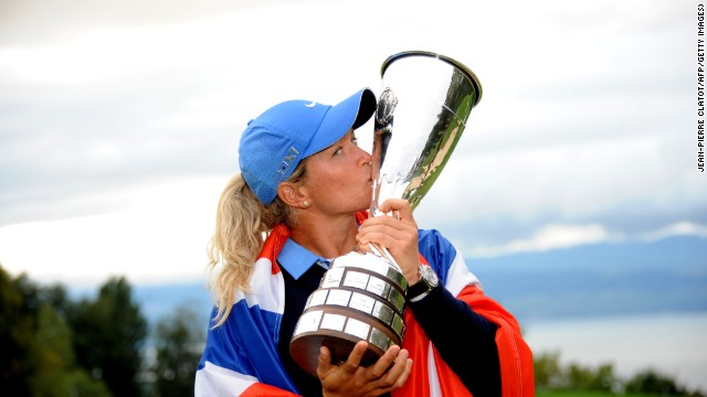 The fifth and final major tournament of the women's golf season is held this week in France, where Suzann Pettersen is defending her Evian Championship title. The Norwegian is in hot form, having finished in the top seven in her last five tournaments, including a tie for second at the British Open.