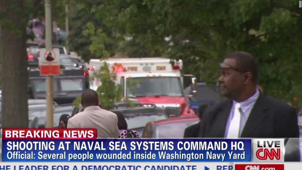 Tiroteo en instalación de la Marina de EE.UU.