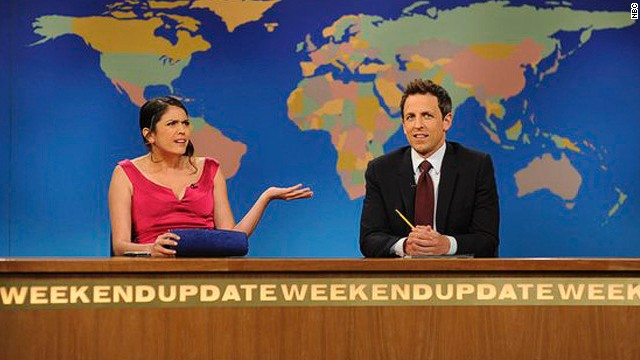 'SNL's' 'Weekend Update' finds new co-anchor