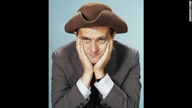 Newhart has built quite a career as a comic and actor. Here is in April 1962.