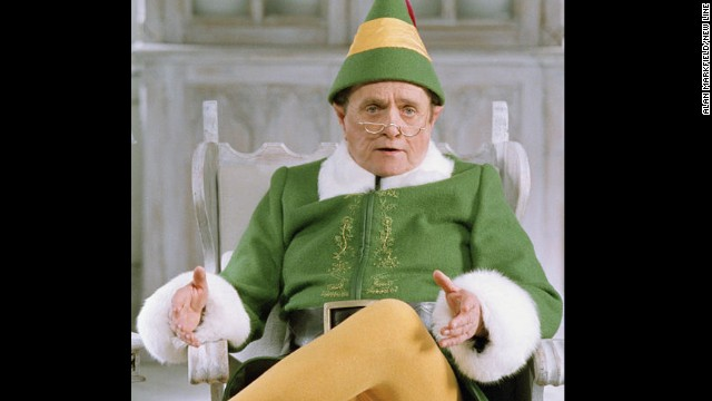 "Newhart plays Papa Elf in the 2003 comedy film ""Elf."""