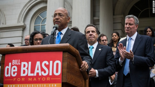 Thompson concedes NYC mayoral primary, endorses de Blasio