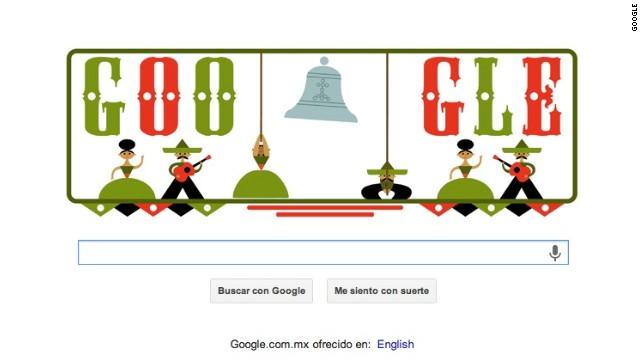 Google celebra la Independencia de México con un 'doodle'