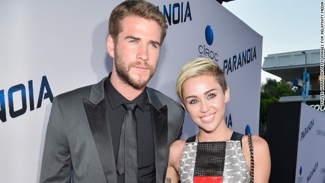 "After months of speculation, Liam Hemsworth's rep confirmed in September that he and Miley Cyrus had ended their engagement. The couple first met on the set of 2010's ""The Last Song"" and have been off and on since then."
