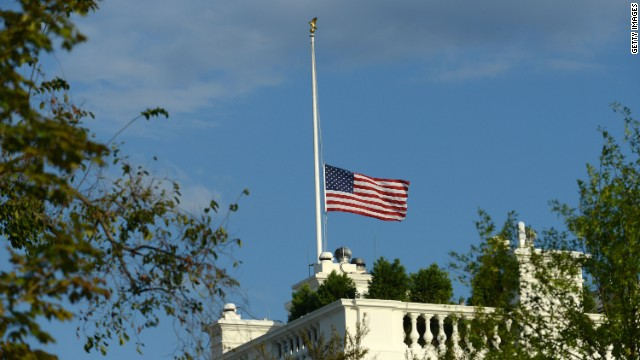 Half-mast or half-staff: Protocol in times of tragedy