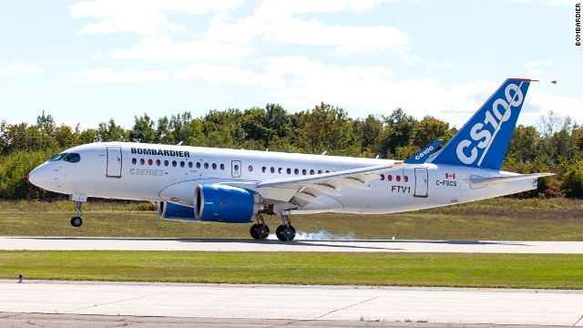 Bombardier has already won 177 orders for its CSeries craft, from carriers such as Latvia's AirBaltic, but that number falls far short of the company's goal of 300 sales by the time the plane enters service in 2015.