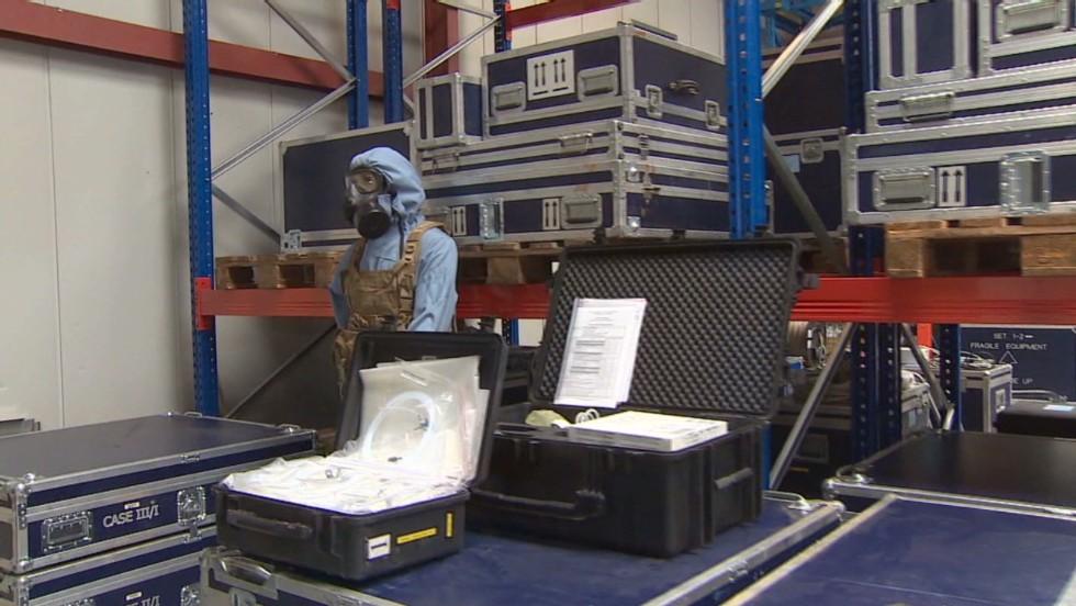 En el laboratorio que comprobó el uso de armas químicas