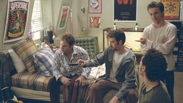 "The 2000 movie ""Road Trip"" features a long-distance relationship between high school sweethearts Josh and Tiffany, played by Breckin Meyer and Rachel Blanchard. Josh and his pals decide to travel from their school to Texas, where Tiffany attends college, to fetch a sex tape sent to her accidentally."