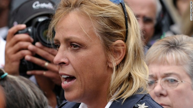 "District of Columbia Police Chief Cathy Lanier speaks to reporters at Washington Navy Yard on Monday, September 16. She said the mass shooting, which left at least 12 people -- and the suspect -- dead, was ""<a href='http://www.cnn.com/2013/09/16/us/dc-navy-yard-tic-toc/index.html'>one of the worst things we've seen</a>."" Many of the people directing the official response to the horrific incident are women."