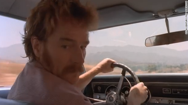"In a 1998 episode of ""The X-Files"" called ""Drive,"" Cranston plays a bigoted yet sympathetic driver who worried that his head would explode. Vince Gilligan, who wrote the episode, remembered Cranston when it came to casting his show ""Breaking Bad."""