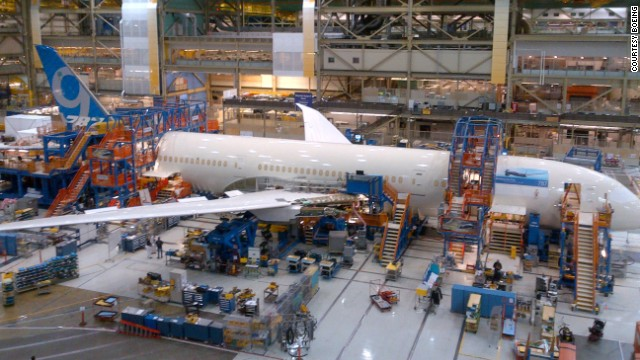 Boeing began final assembly of the first 787-9 Dreamliner in May 2013 in Everett, Washington, when employees began joining large sections of the aircraft together.