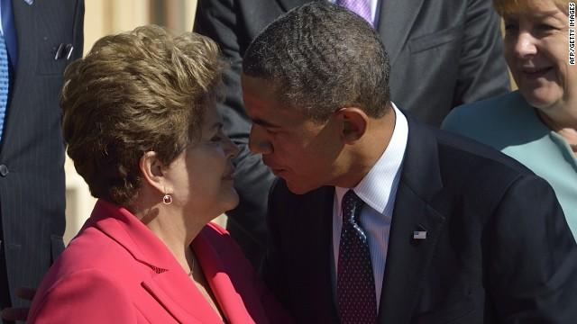 Dilma Rousseff pospone su visita a EE.UU. por caso de espionaje